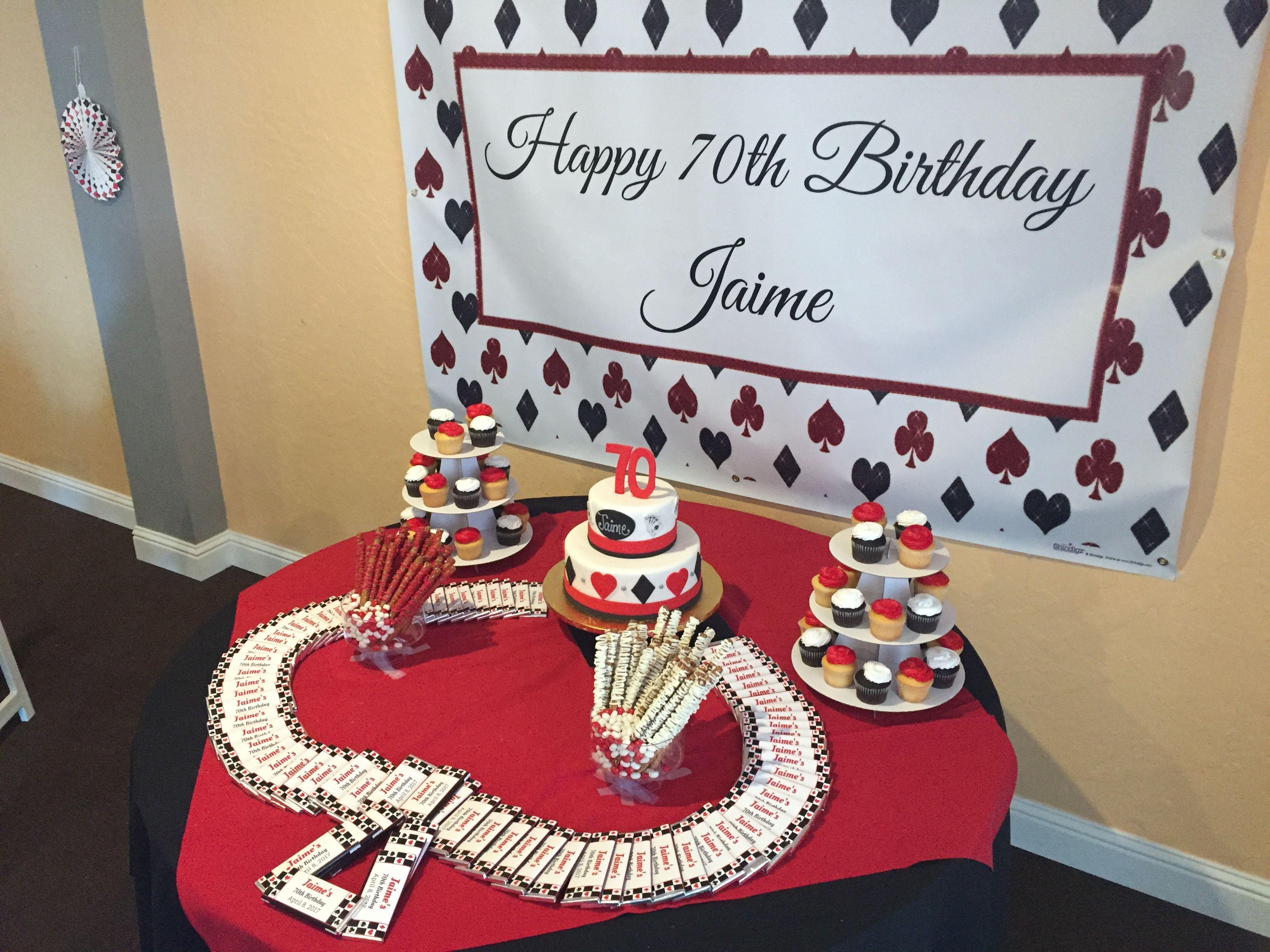 Casino Theme Cake Table Decoration Decor Centerpiece Themed Cakes Casino Theme Casino Theme Parties