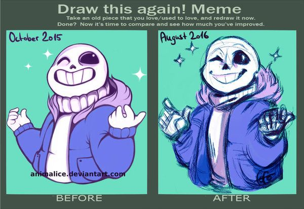 Draw This Again Meme By Animalice Art In 2019 Pinterest