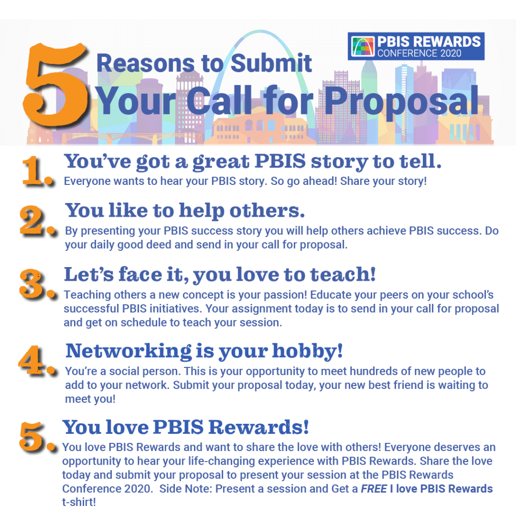 5 Reasons To Submit Your Call For Proposal