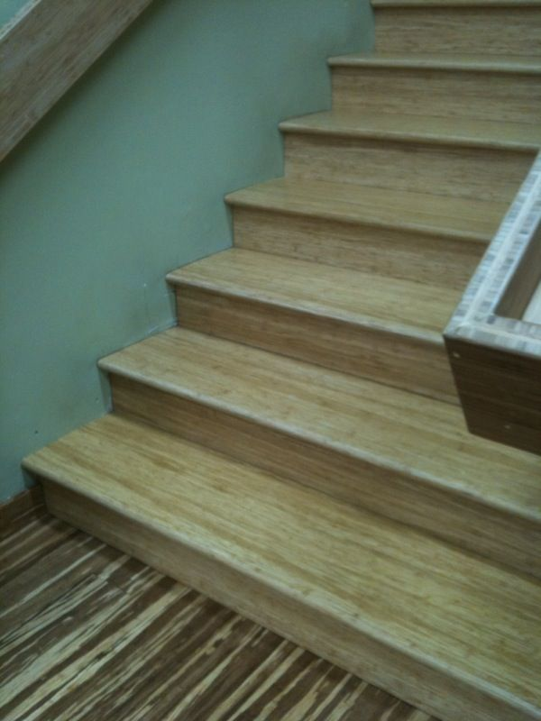 Beautiful Bamboo Stairs Stair Tread Nose And Riser Available In