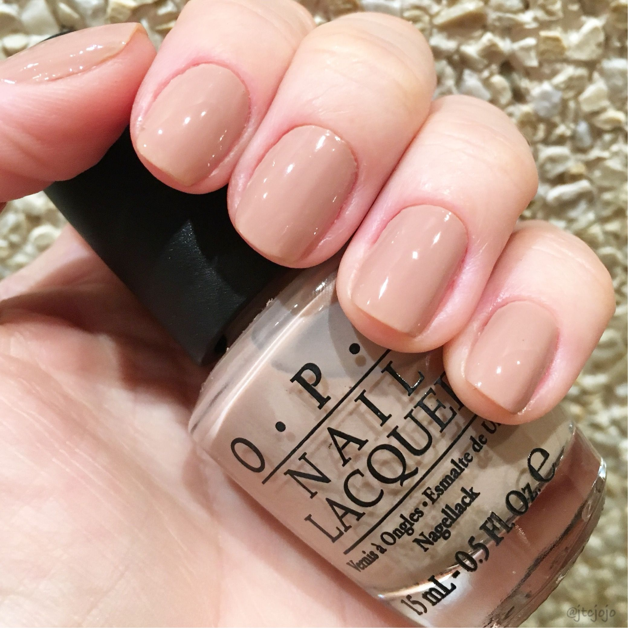 New favorite neutral polish OPI - Tickle My France-y in