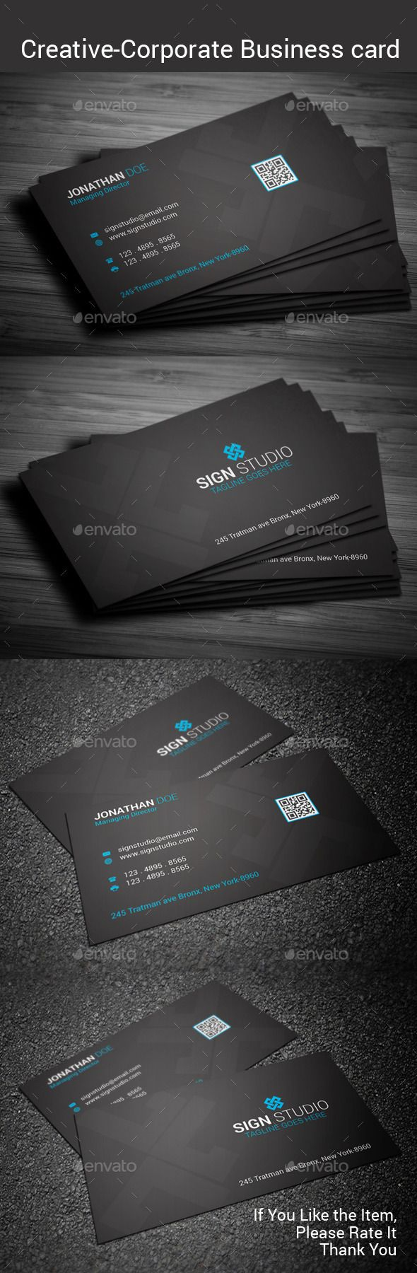 Creative business card business cards photoshop cs5 and adobe creative business card reheart Gallery