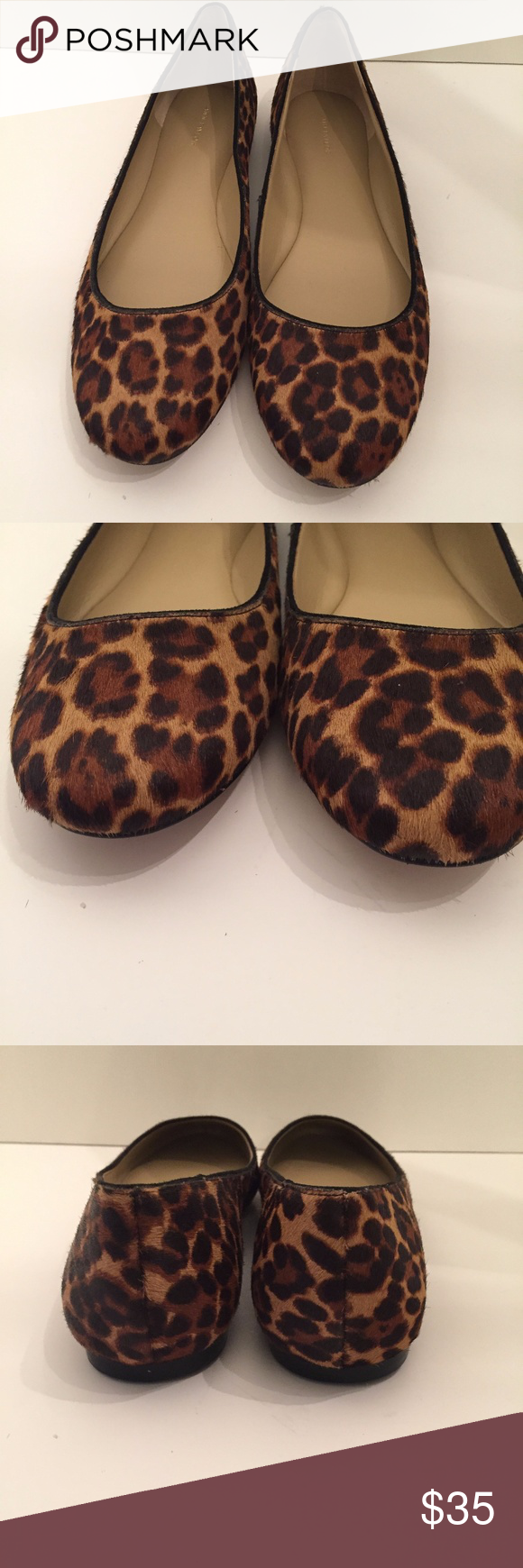 WOMENS ANN TAYLOR FUR FLATS NEW SZ 9 BRAND NEW NO BOX  ANN TAYLOR FUR CHEETAH PRINT FLATS   SIZE 9  MAKE SURE TO CHECK OUT MY OTHER LISTINGS.  FEEL FREE TO ASK QUESTIONS  BIN-3 Ann Taylor Shoes Flats & Loafers