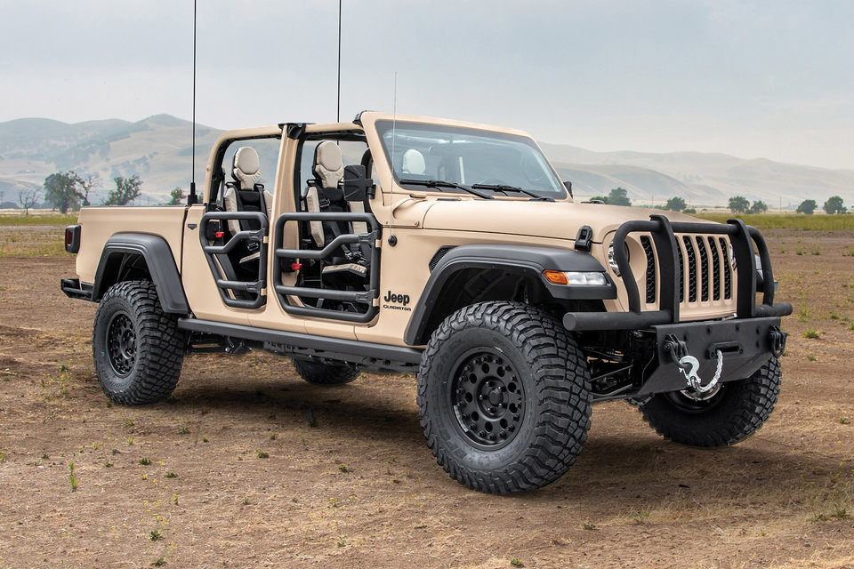 Jeep X Am General Gladiator Xmt Truck With Images Jeep