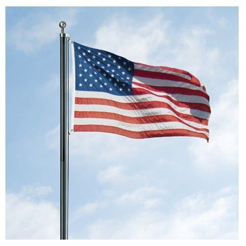 18ft Us Made Steel Flagpole By Valley Forge In 2020 Flag Display Flag Display Case Flag Pole