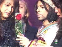 Prince - Septimo concert pic - Nov 22, 1999 and Mayte
