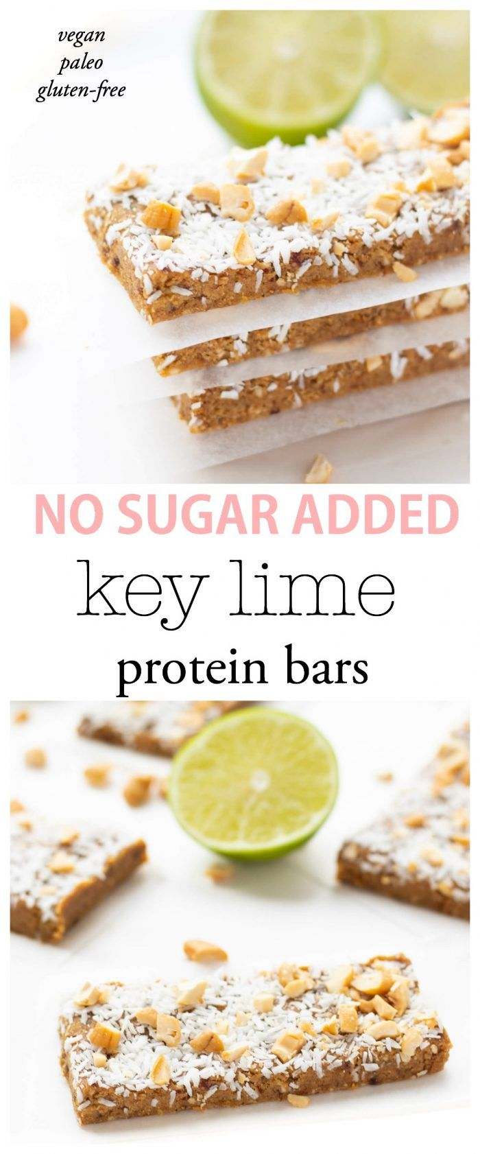 Key Lime Cashew Crunch Protein Bars images