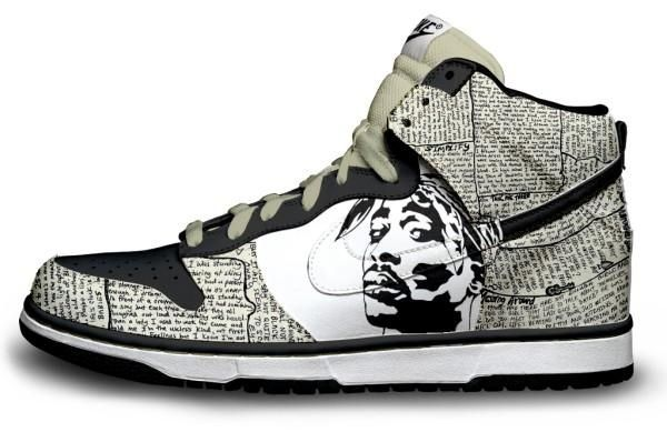 They should do this with more artists. Having the lyrics surrounding the  artist. I · Shoe DesignsSneakers DesignNike ...