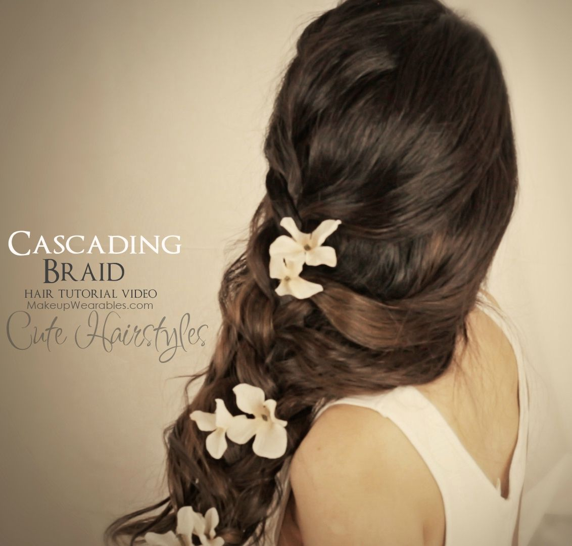 More side swept hairstyles for prom side swept wedding hair medium - Hair Tutorial Video Easy Curly Braided Hairstyles Messy Side Braid Updos For