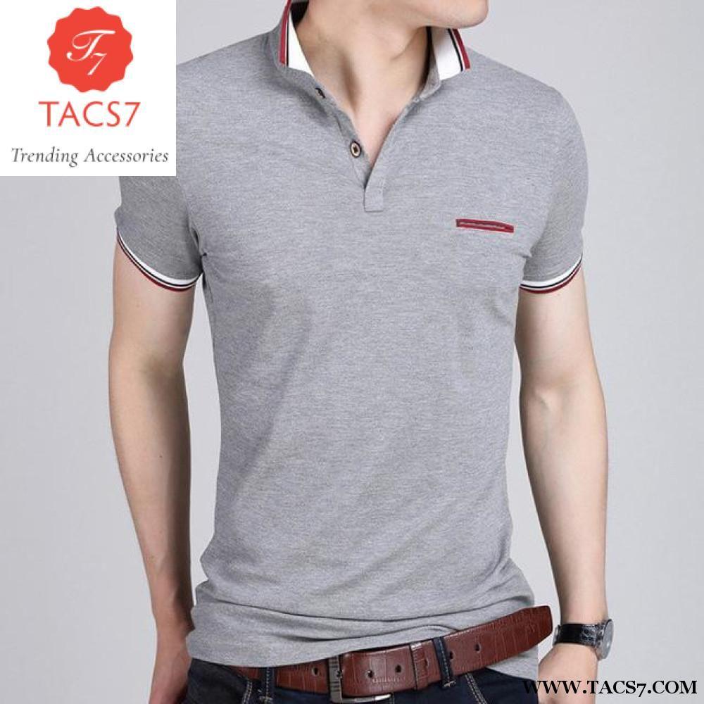 956a05cb Men Polo Shirt 2018 Summer Men Business Casual Breathable White Striped  Short Sleeve Polo Shirt Pure Cotton Work Clothes Polos