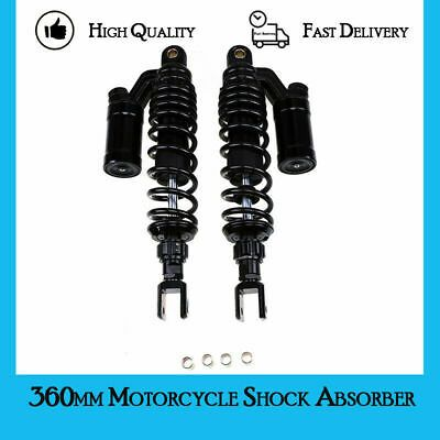 """360mm 14.17"""" Air Shock Absorber Motorcycle Suspension Fit ..."""