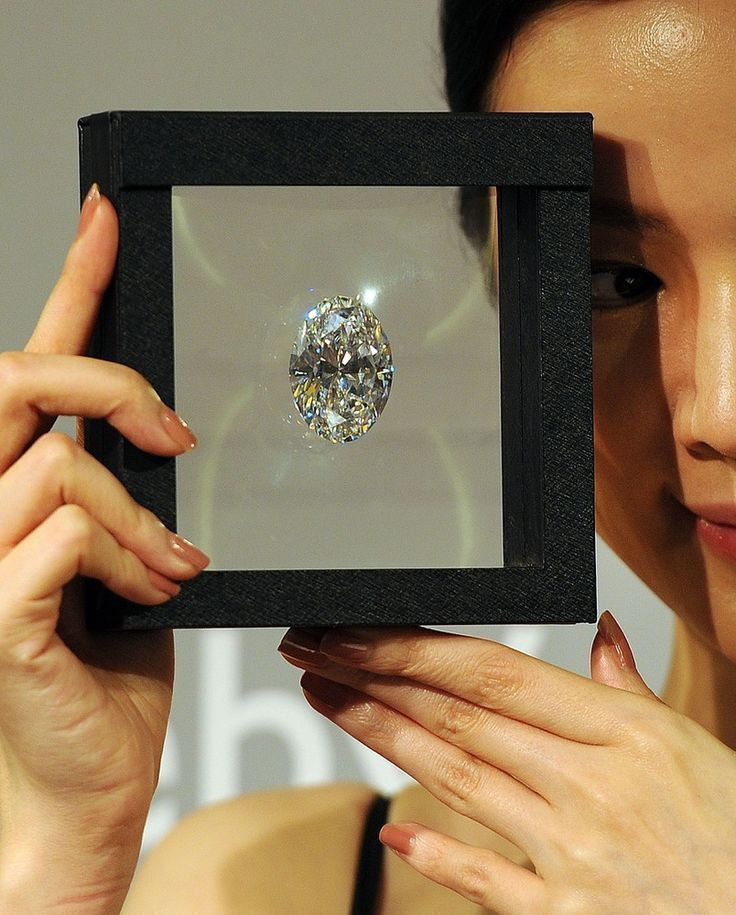 Egg-sized diamond sets record auction price of $30 million