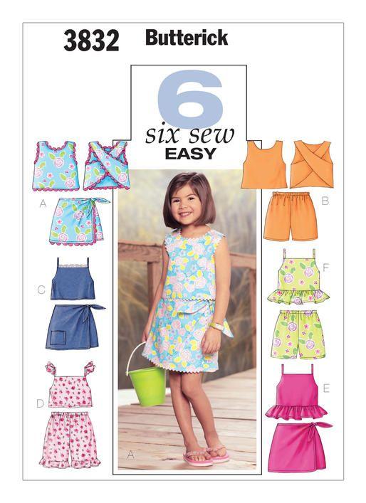 B3832 | Butterick Patterns | linen sisters | Pinterest