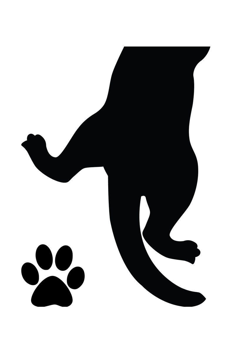 vente ambiance l u0026 39 esprit d u00e9co    15212    animaux    sticker pattes de chat noir
