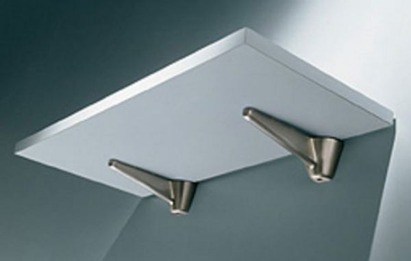 Wood/Glass Bracket 180 mm To Suit 2040 mm Shelf Wood