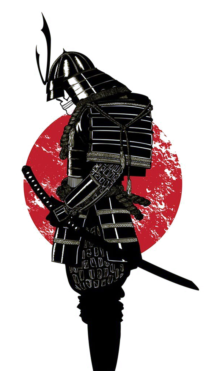 Images For > Samurai Mask Silhouette tattoo ideas
