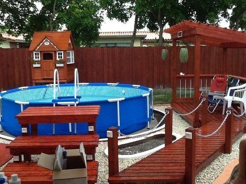 Pin By Mary Van De Ven On Pool Backyard Pool Diy Swimming Pool Pool Hot Tub