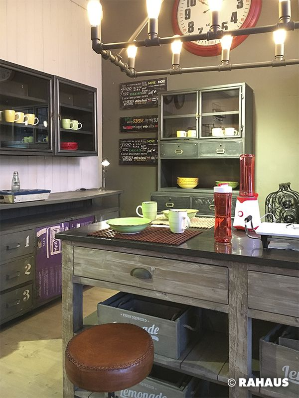 GOOD MORNING #Küche #kitchen #Holz #Wood #Stein #Kücheninsel - ikea küche metall