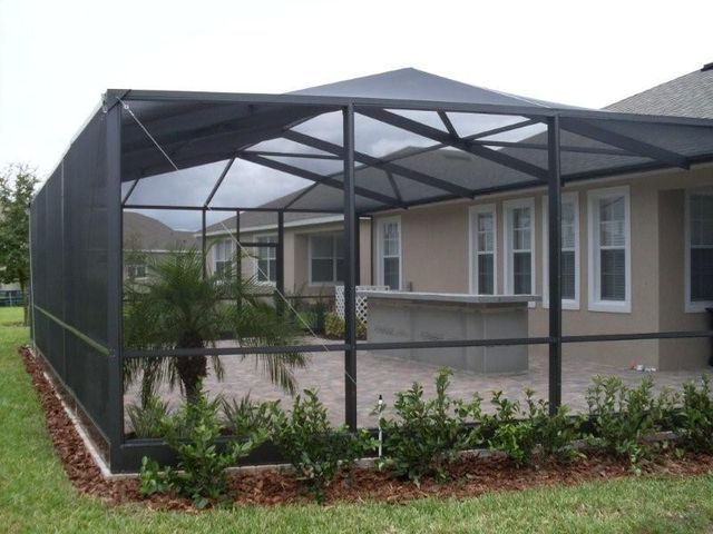 Florida Screen Rooms Sunrooms Pool Enclosures Orlando Pool Screen Enclosures Us Aluminum Florida Pool Patio Screen Enclosure Pool Screen Enclosure