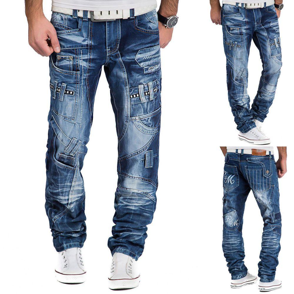 Kosmo Lupo Herren Jeans Hose Denim Japan Style Vintage Clubwear Chino Used    eBay 4a61aa8ed8