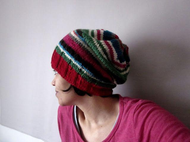 HattieMyLove: #Stashbuster Hat Free knitting pattern! | tejido ...