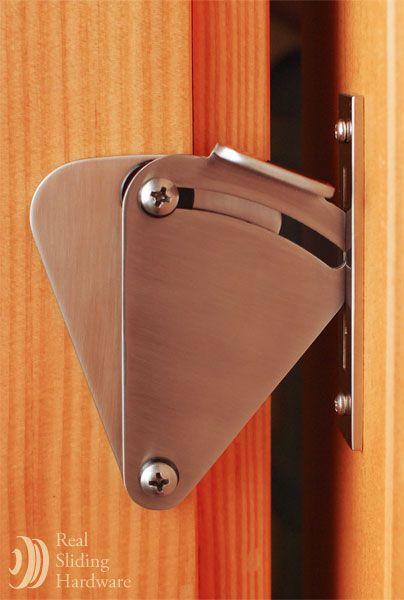 Real Carriage Door Hardware Sliding Door Locks Privacy