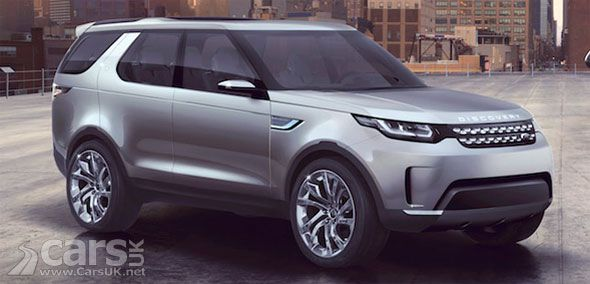 New Land Rover Discovery Vision Concept Leaks Land Rover