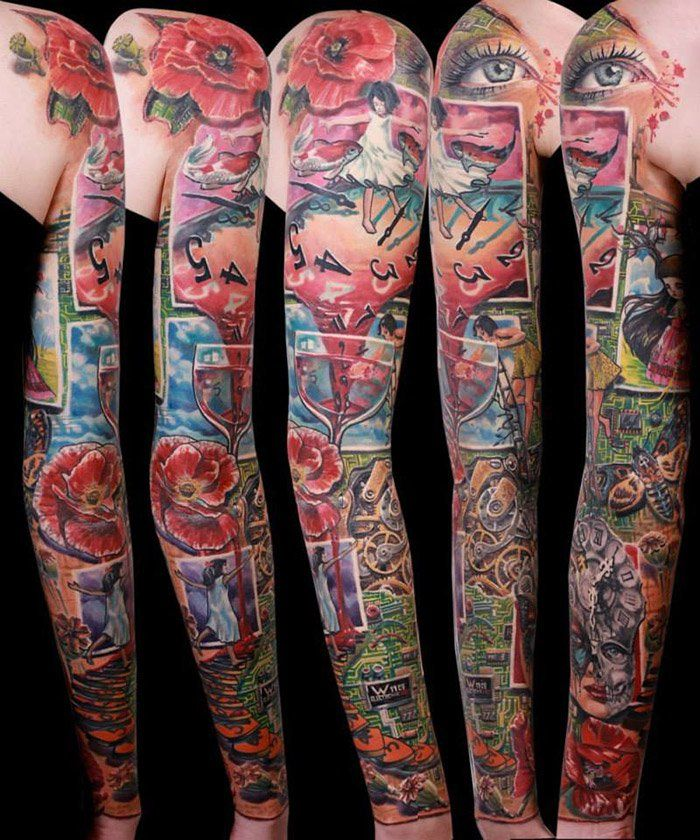 The World's Best Tattoo Artists Part1 Tattoo, Arm