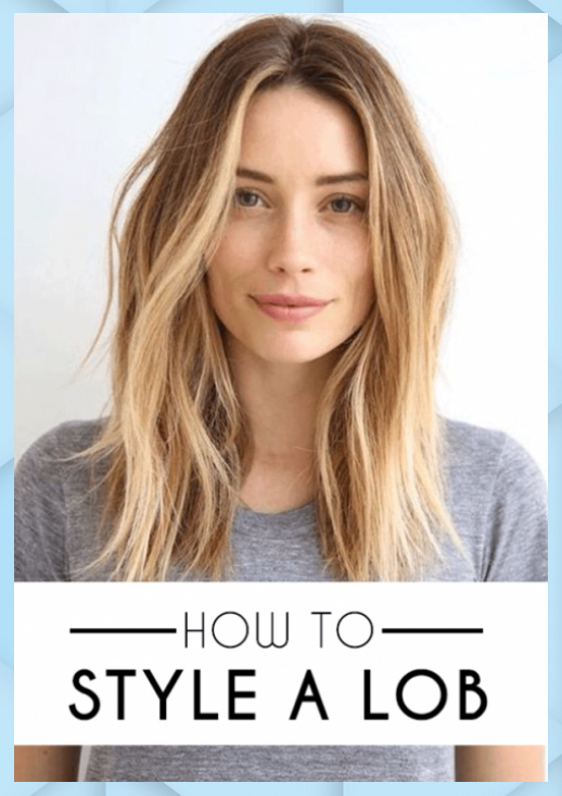 How To Style A Lob Long Bob Society19 How Style Lob Long Bob Society19 In 2020 Lob Styling Thick Hair Styles Long Hair Styles