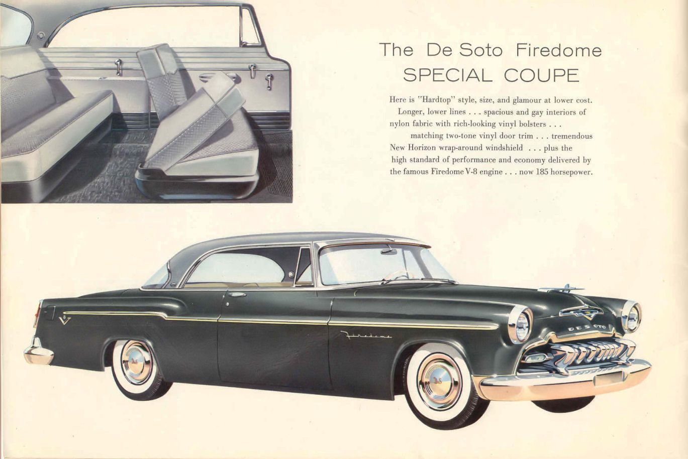 1956 desoto firedome seville 4 door hardtop 1 of 10 - 1955 Desoto Firedome Special Coupe
