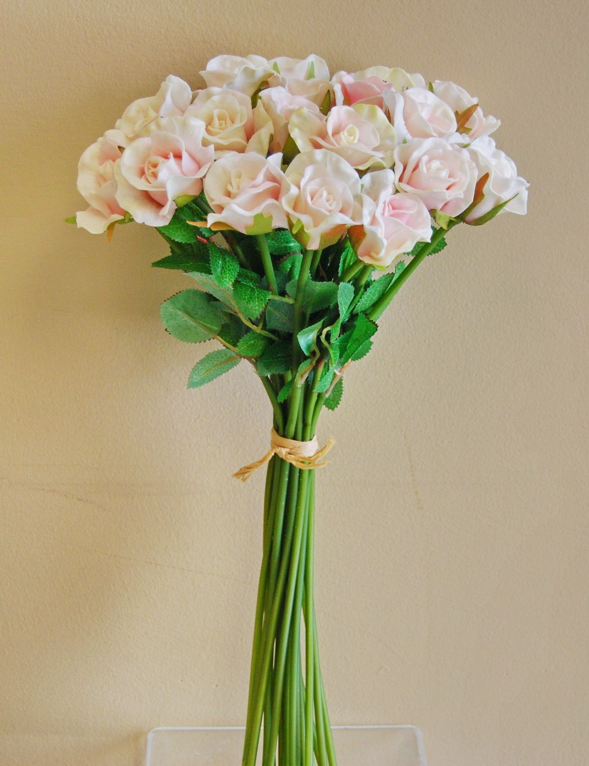 Wb051pk real touch mini rose bouquet pink real touch flower wb051pk real touch mini rose bouquet pink izmirmasajfo