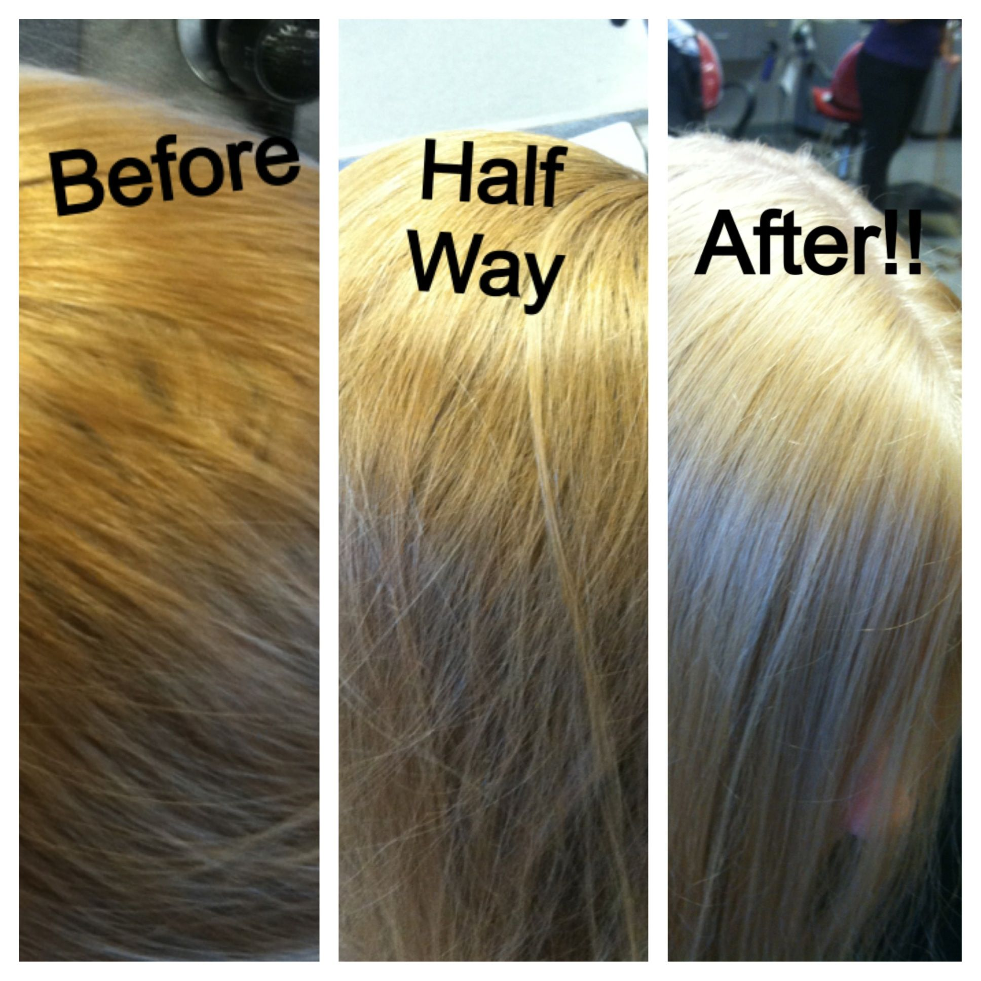 Platinum Blonde Double Process Using Matrix Color Platinum Blonde Hair Color Blonde