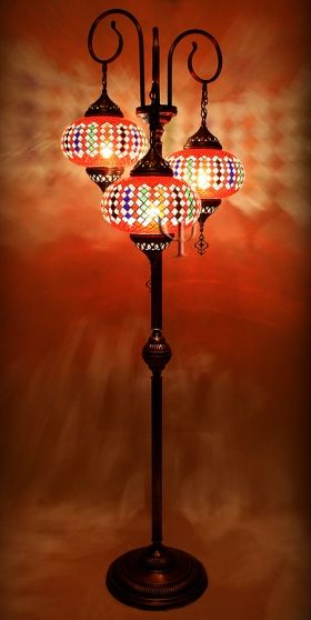 Mosaic Floor Lamp Mosaic Lamp Turkish Mosaic Lamp Floor Lamp