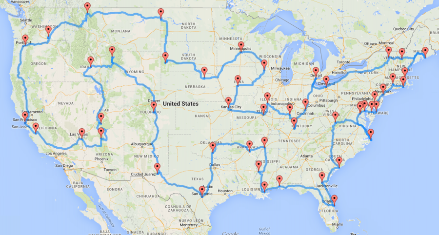 Best Map Of Usa.The Ultimate Usa Road Trip Is Right Here And You Ll Definitely Want