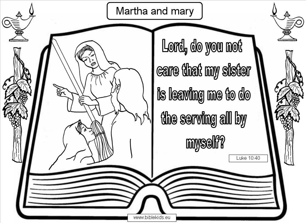 Martha And Mary Verse Jpg 1008 737 With Images Tower Of