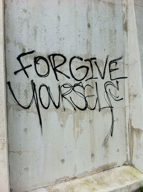Forgive yourself, learn and move on.
