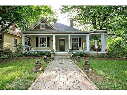 380 Candler Park Drive Ne Atlanta Ga 30307 Farmhouse Design House Exterior Decks And Porches