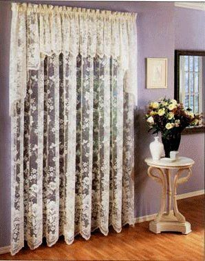 Lorraine Home Fashions Floral Vine 60 Inch X 63 Inch Tailord Panel