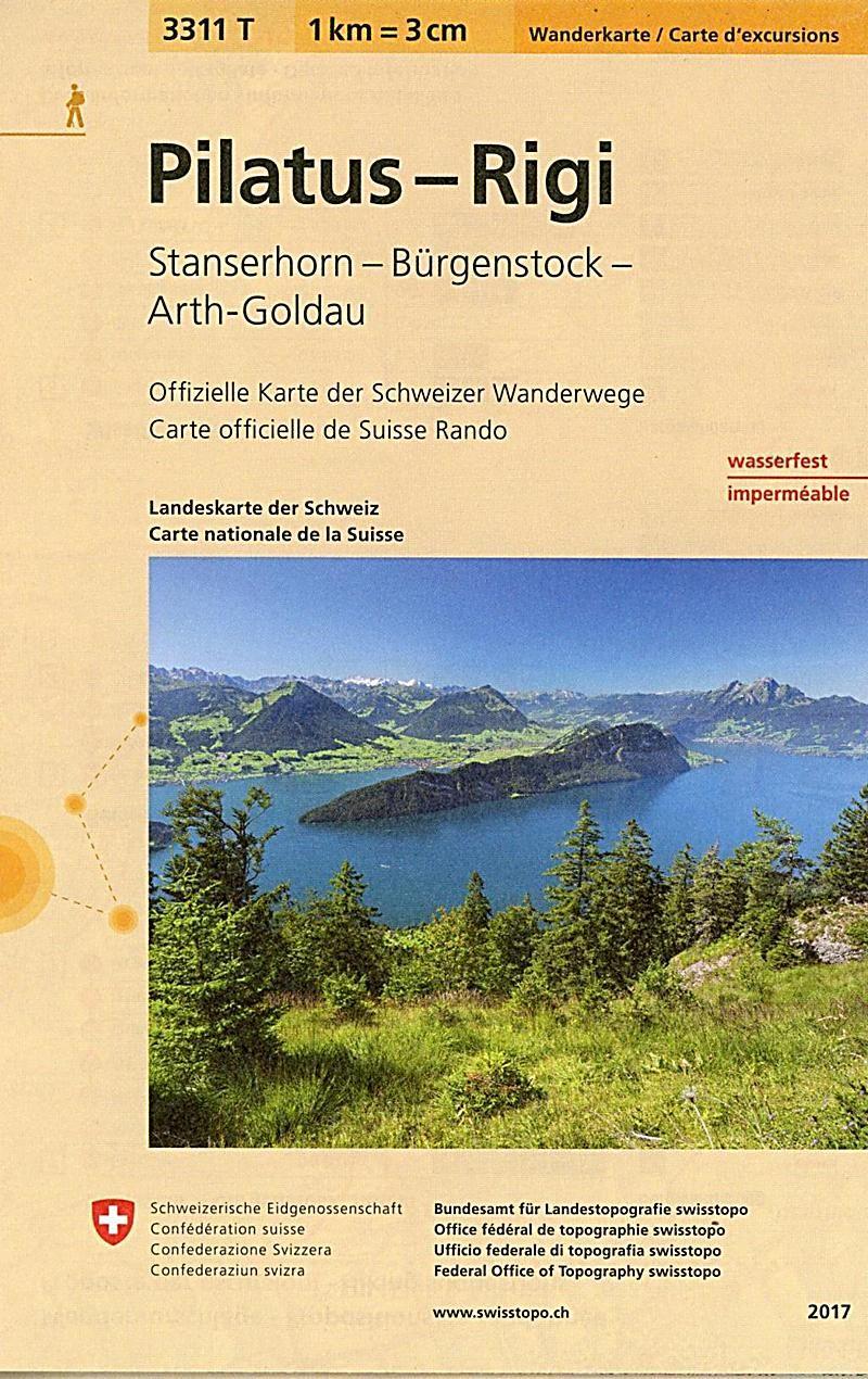 Landeskarte Der Schweiz Pilatus Rigi Karte Im Sinne Von