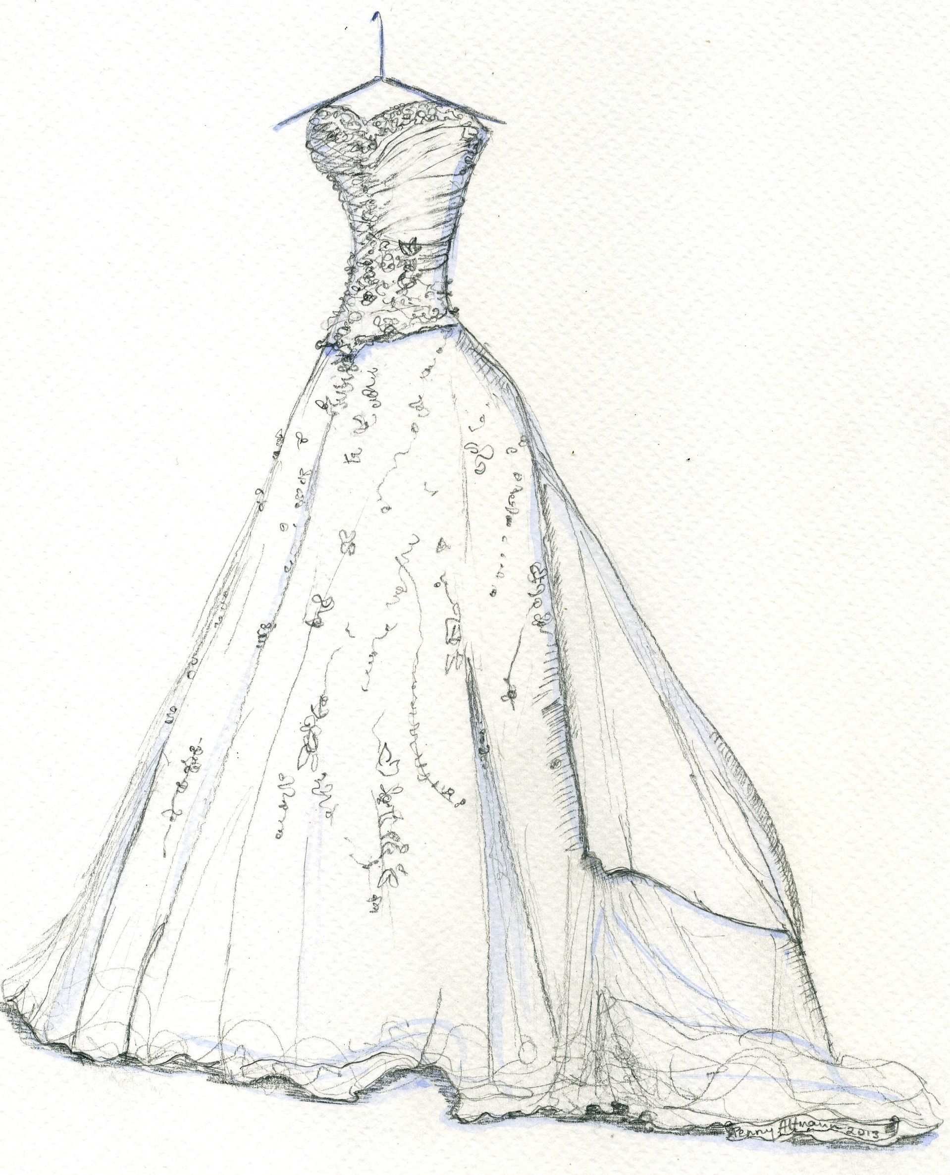 Wedding Dress Sketches 1918 X 2371 Disclaimer We do not own any of these pictures graphics
