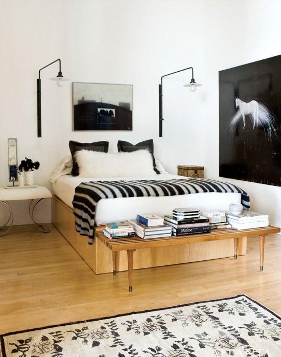 slaapkamer bankje