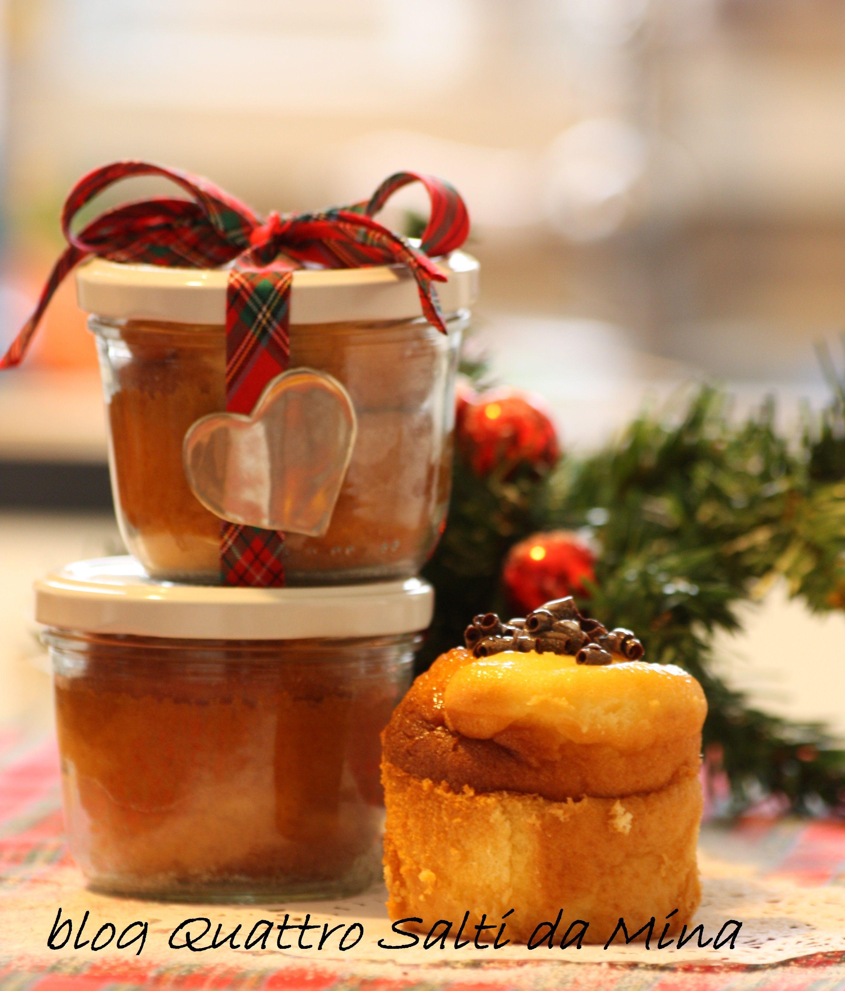 Idee Regalo Natale Cibo.Mini Cake In Barattolo Idea Regalo Natale Cibo E Dolci