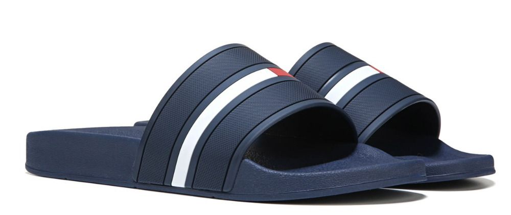 8365278282da New Men s TOMMY HILFIGER Ennis Synthetic Upper Durable Comfort Slide Sandal  Navy  fashion  clothing  shoes  accessories  mensshoes  sandals (ebay link)