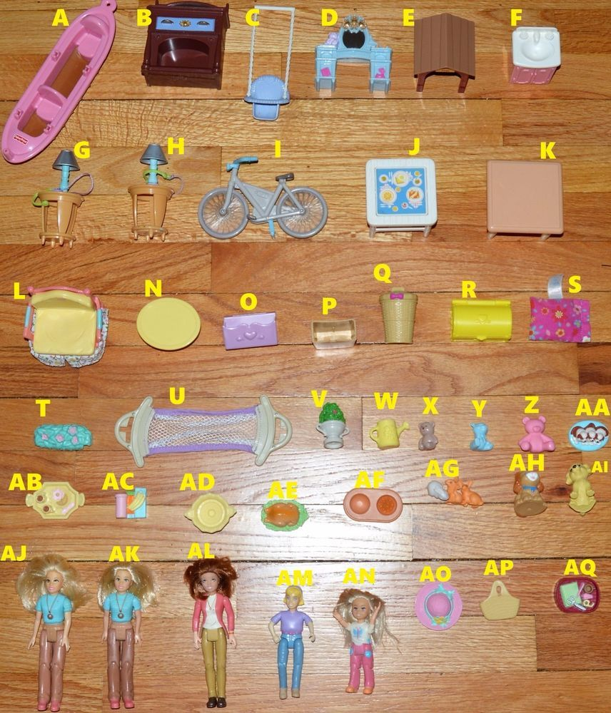 Fisher price doll house furniture - U Choose Fisher Price Loving Family Doll House Piece Mom Girl Kitchen Furniture