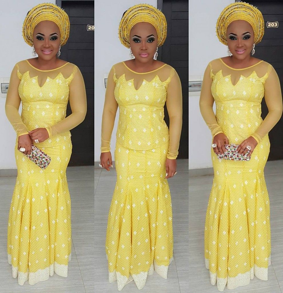 2017 05 aso ebi fashion styles nigeria wedding event fashion - Fab Looking Wedding Guests Mercy Aigbe Gentry And Mide Martins Step Out In Perfectly Polished Outfits Wedding Digest Naijawedding Digest Naija