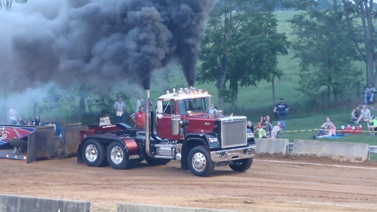 Semi Truck Pulls Limited Pro Stock Semis Boonsboro MD