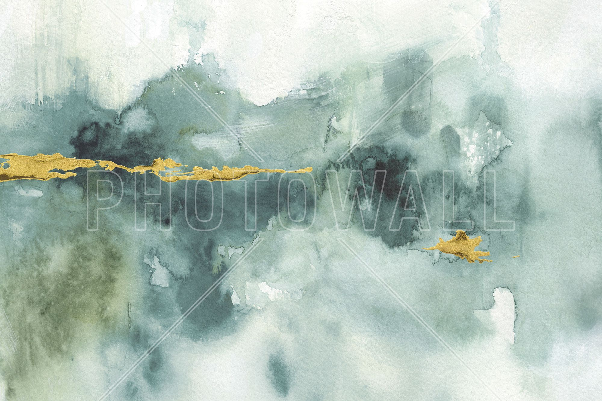 My Greehouse Watercolor 3 - Wall Mural & Photo Wallpaper - Photowall
