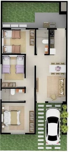 Casa Designer 3d Home Makeover App For Ipad: Casa 3 Quartos - Pesquisa Google