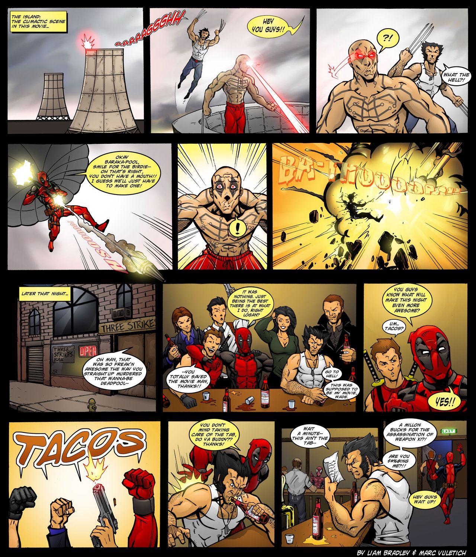 XMen Origins Deadpool by