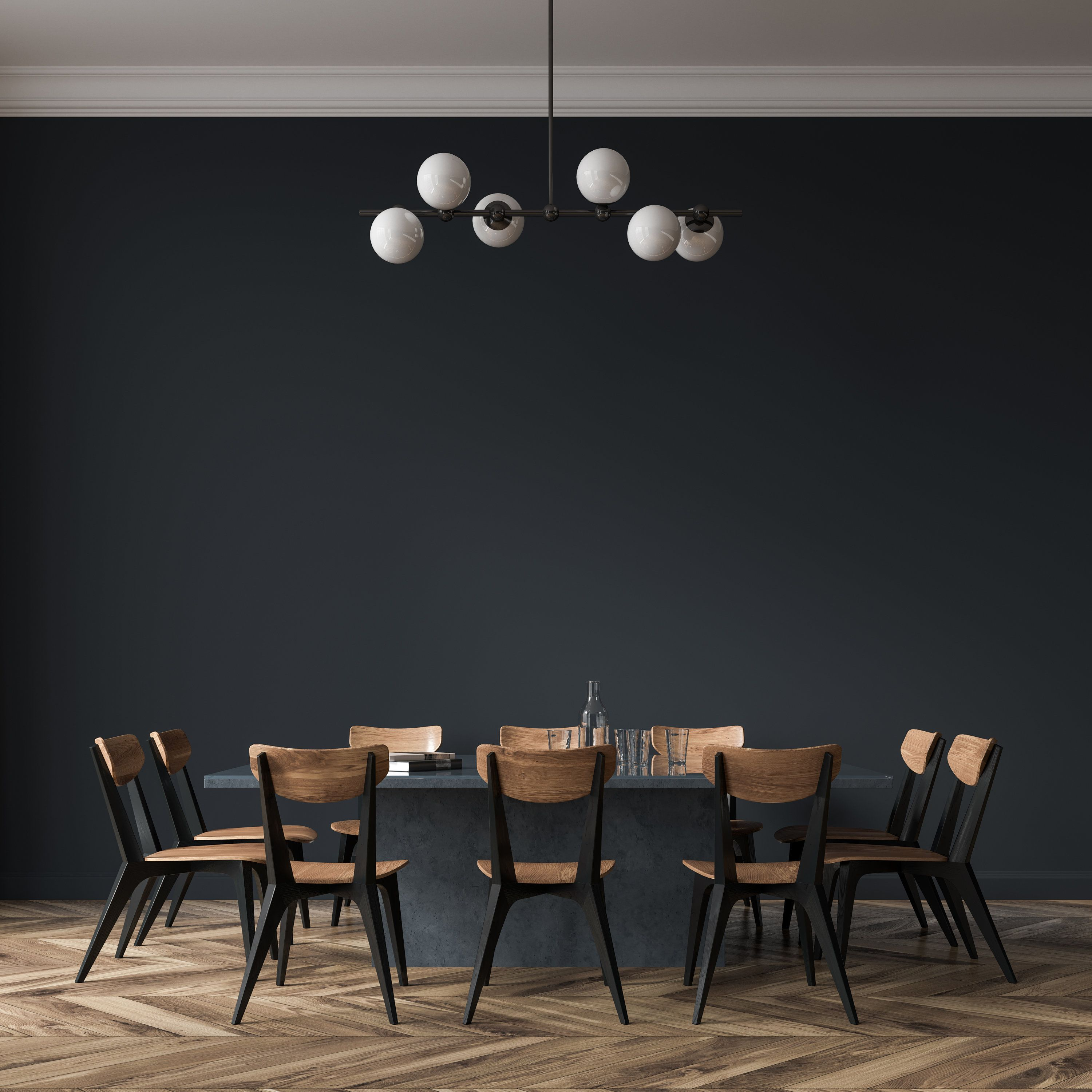 Solid Color Peel And Stick Wallpaper One Color Removable Etsy Black Dining Room Table Black Dining Room Peel And Stick Wallpaper
